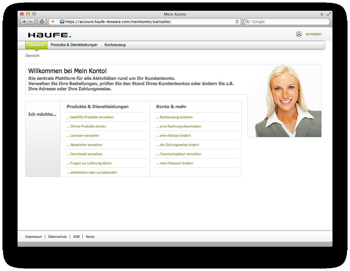 Mein Karma Berechnen : corporate karma entwirft den neuen mein konto auftritt f r haufe lexware corporate karma ~ Themetempest.com Abrechnung