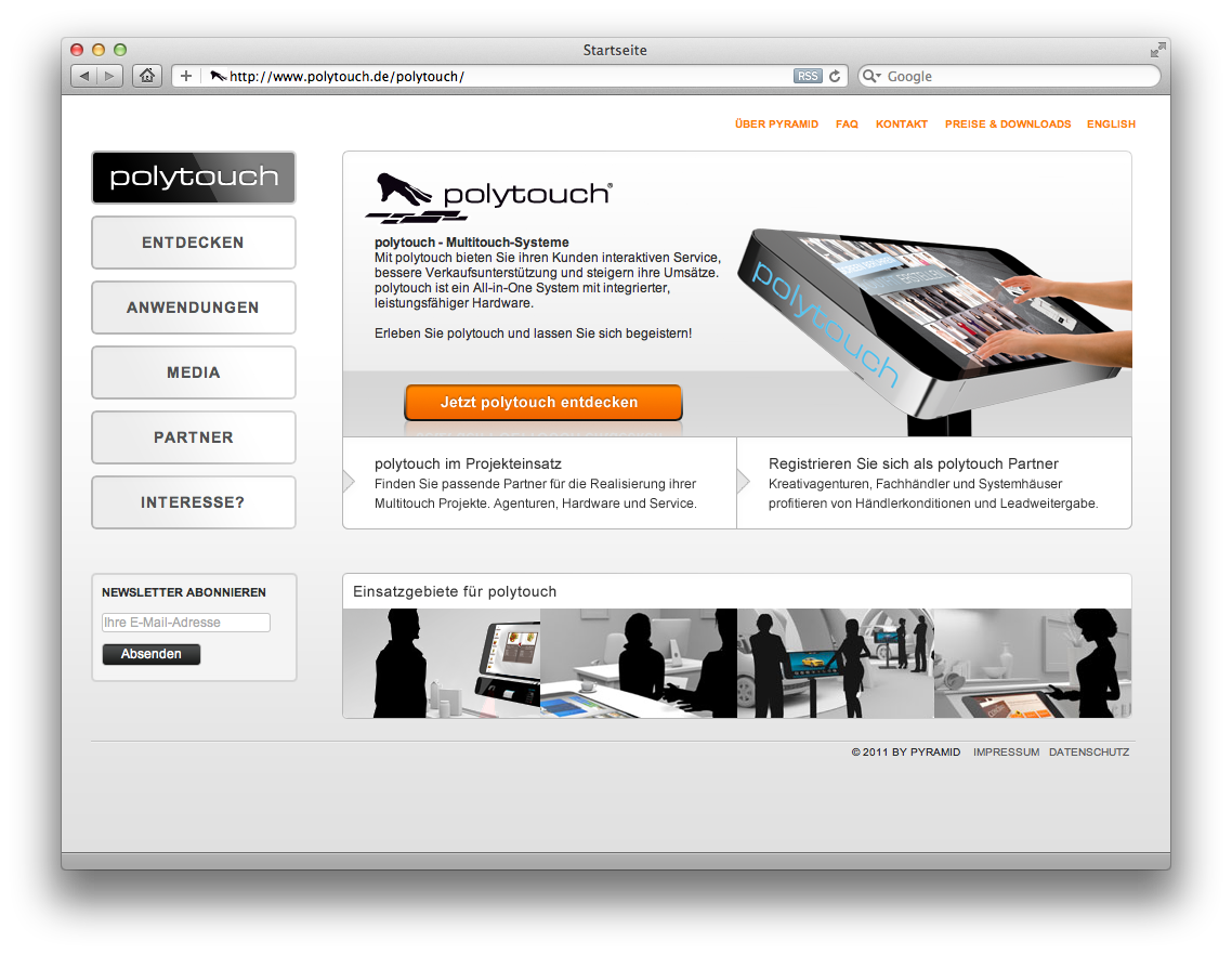 Polytouch Website
