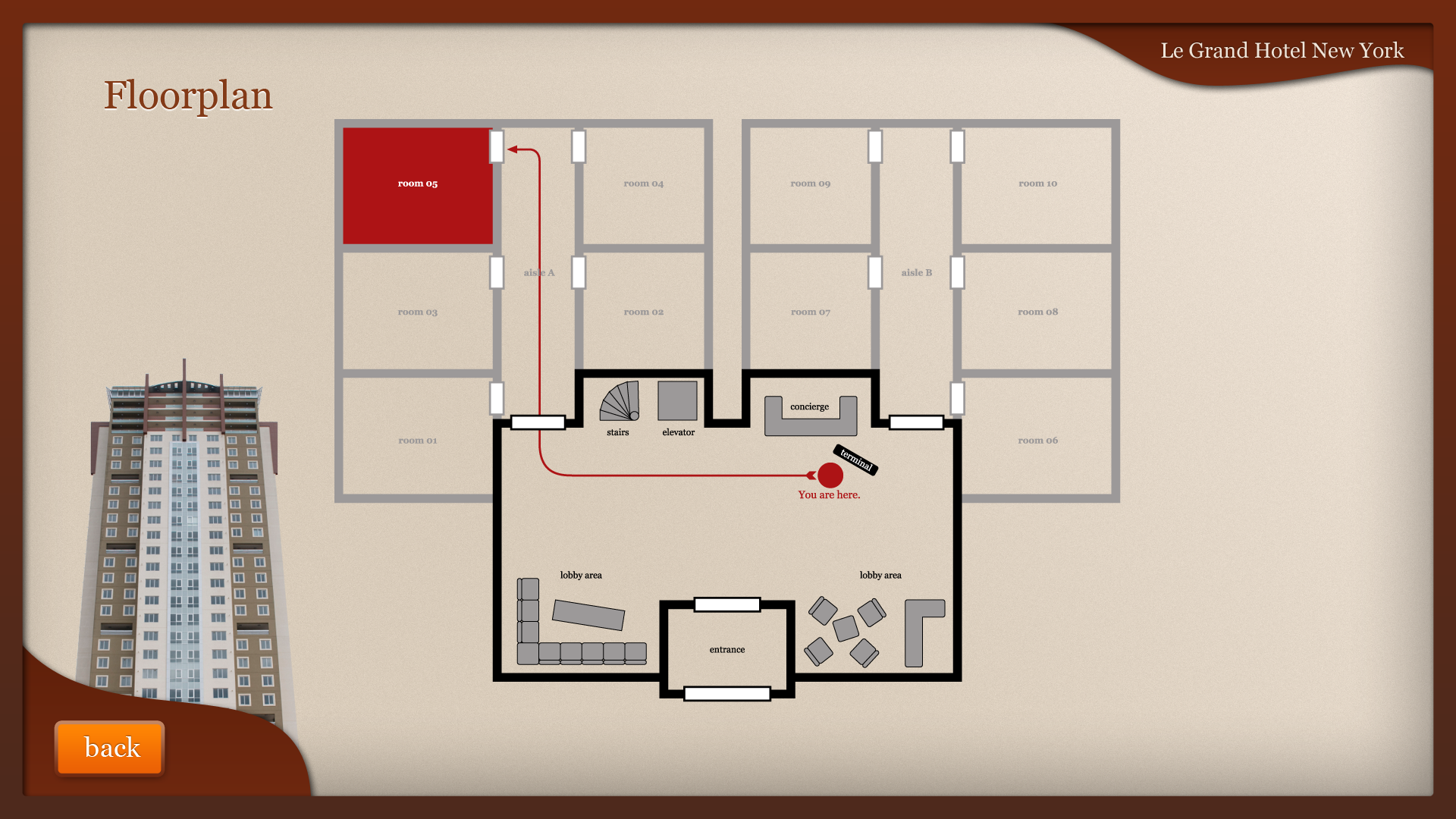 Concierge-App - Floorplan